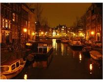 Amsterdam In Night
